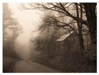 Parish Hill Road Fine Art Print