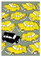 Odd Ones - Black Cab Fine Art Print
