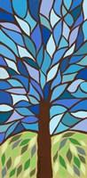 Tree of Life - Blue Fine Art Print