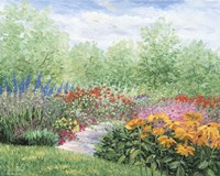 Impressionistic Garden Fine Art Print