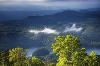 Morning In The Blue Ridge Mountains Fine Art Print