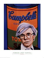 Homage to Andy Warhol Fine Art Print