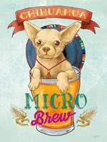 Beer Dogs I Fine Art Print