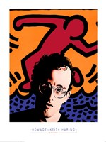 Homage to Keith Haring Fine Art Print
