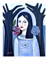 Doll in the Woods Fine Art Print