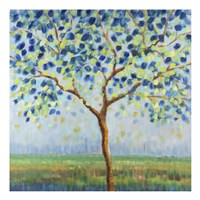 Tree in Blue Fine Art Print