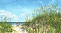 Beach Path Fine Art Print