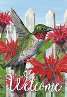 Ruby Red Garden Fine Art Print