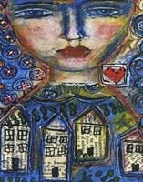 Heart And Home Fine Art Print