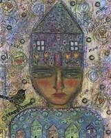 House Head Lady Fine Art Print
