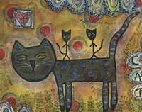 Kitty Kat Ride Fine Art Print