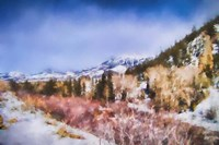 Winter Beginnings In Colorado Fine Art Print
