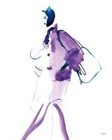 Colorful Fashion IV Framed Print