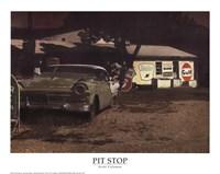 Pit Stop Fine Art Print