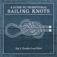 Vintage Sailing Knots V Fine Art Print
