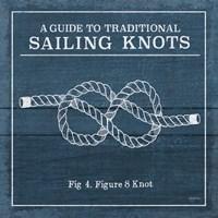 Vintage Sailing Knots IV Fine Art Print