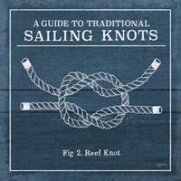 Vintage Sailing Knots III Fine Art Print