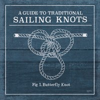 Vintage Sailing Knots II Fine Art Print