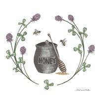 Happy to Bee Home IV Fine Art Print