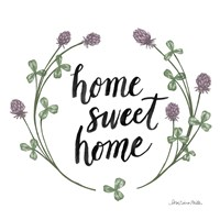Happy to Bee Home Words I Fine Art Print