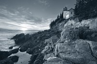 Bass Harbor Head Sunset no Border Fine Art Print