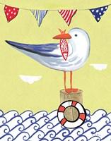 Coastal Bird II Fine Art Print