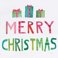 Christmas Collage III Fine Art Print