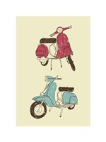 Scooter II Fine Art Print