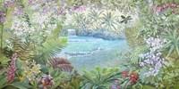 Cascata Tropicale Fine Art Print