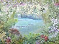 Cascata Tropicale (detail) Fine Art Print