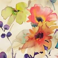 Floral Fireworks I Fine Art Print