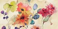 Floral Fireworks Fine Art Print