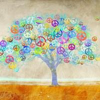 Tree of Peace (detail) Fine Art Print