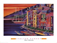 Italian Sunset Fine Art Print