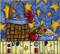 Happy Fourth Fine Art Print