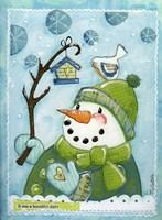 Snow Friends Fine Art Print