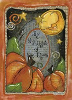 Two and the moon Fine Art Print