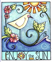 Enjoy the Sun Fine Art Print