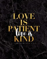 Love is Patient Fine Art Print