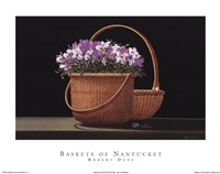 Baskets of Nantucket Framed Print