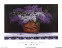 Lilacs of Nantucket Framed Print