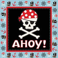 Ahoy Pirate Boy III Fine Art Print