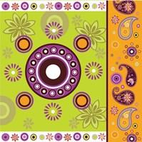 Boho Chic Amethyst XII Fine Art Print