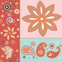 Boho Chic Rust XI Fine Art Print
