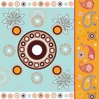 Boho Chic Rust XII Fine Art Print