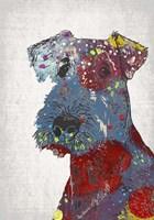 Abstract Dog II Fine Art Print