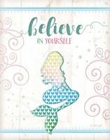 Believe Mermaid Fine Art Print