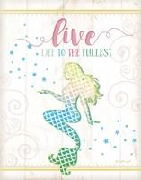 Live Mermaid Fine Art Print