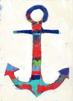 Anchor Stripe Fine Art Print
