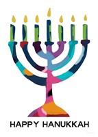 Hanukkah Menorah Fine Art Print
